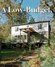 A Low-Budget, High-Impact House - Fine Homebuilding