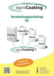 Verarbeitungshinweise Agrocoating