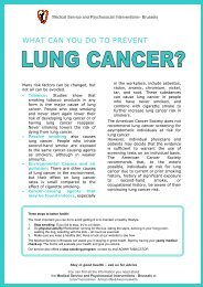 Cancer info LUNG BI FINAL - Cancer Support Group