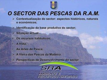 O SECTOR DAS PESCAS DA R.A.M. - CCR.S