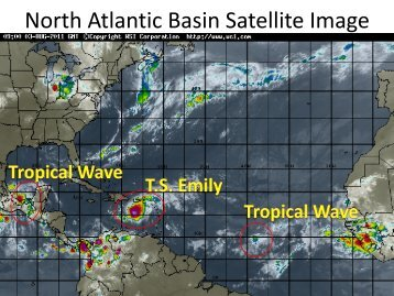 North Atlantic Basin Satellite Image