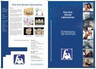 Fine Arts Dental Booklet