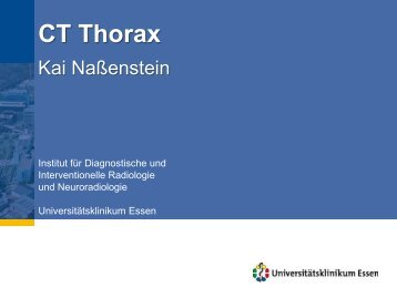 CT Thorax