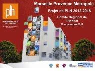 Présentation Projet de PLH 2012-2018 présenté au CRH