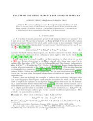FAILURE OF THE HASSE PRINCIPLE FOR ENRIQUES SURFACES ...
