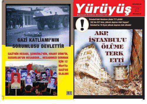 AKP, ‹STANBUL'U ÖLÜME TERK ETT‹