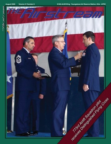August - Youngstown Air Reserve Station