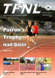 January february 2013 x - Masters Athletics W.A.