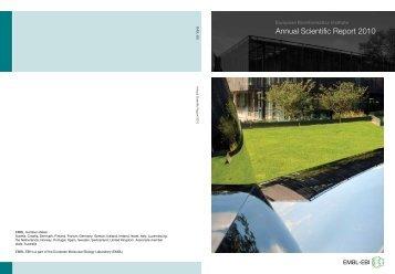 Annual Scientific Report 2010 - European Bioinformatics Institute