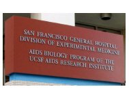Introduction and History - UCSF - AIDS Research Institute