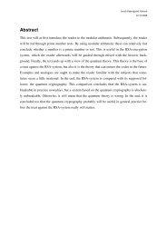 Kodeteori i forbindelse med kvantefysik
