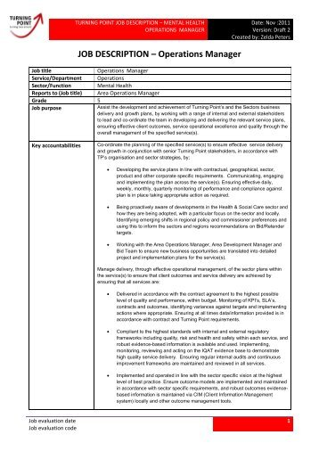 PEAKS Operations Manager Job Description - Oxford Policy ...