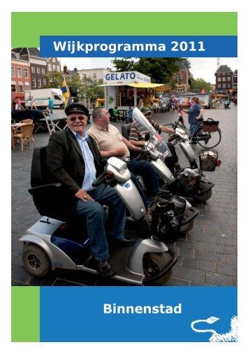 Wijkprogramma 2011 - Gemeente Leeuwarden