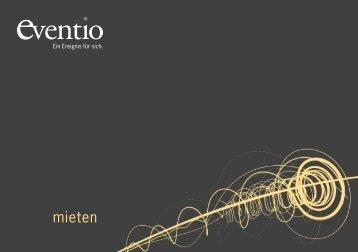 Dokumentation Mietmaterial 2012 - Eventio Zürich