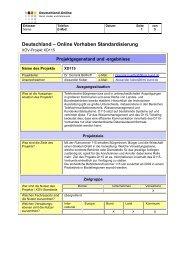 Ausführlicher Projektsteckbrief (pdf, 51 KB) - XÖV