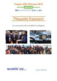Plaquette Exposant - Atec/ITS France