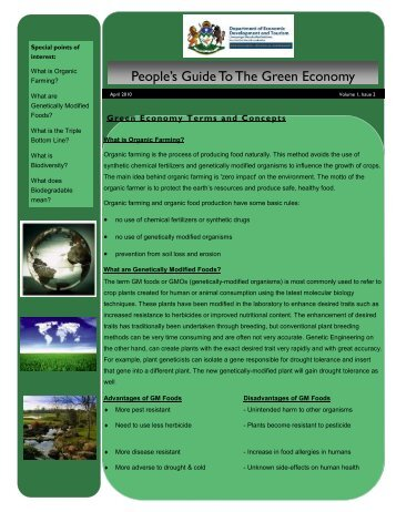 People's Guide To The Green Economy 2 - Department of Economic ...