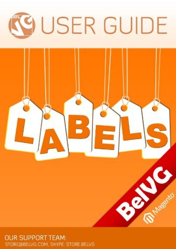 Labels - BelVG Magento Extensions Store