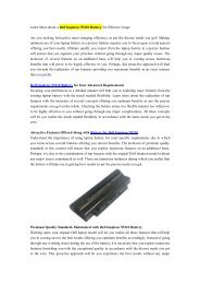 Learn More about a Dell Inspiron N5110 Battery for Effective Usage.pdf