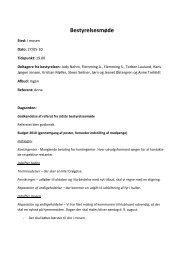 Referat fra bestyrelsesmøde d. 27. maj 2010