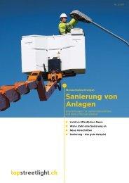 Strassenbeleuchtung: Sanierung von Anlagen - Safe