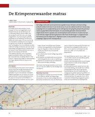 De Krimpenerwaardse matras - GeoTechniek