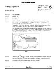 Technical Information 911 (996) Turbo Service - Bethnrayndogs.com