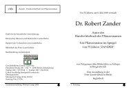 Dr. Robert Zander Todestag