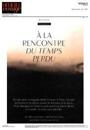 À LA RENCONTRE DU TEMPS PERDU - Voyageurs du Monde