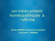 Les médicaments homéopathiques à l'officine - Profession Santé