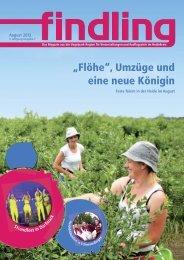 """""""Flöhe"""", Umzüge und eine neue Königin - der findling"""