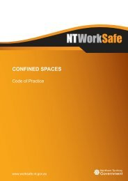 Confined Spaces - NT WorkSafe - Northern Territory Government
