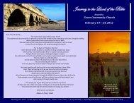 View Brochure - Grace Community Fellowship