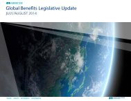 Global Benefits Legislative Update - iMercer.com
