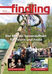 Der Mai als Saisonauftakt für Feiern und Feste - der findling