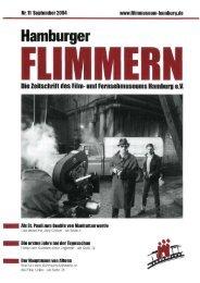 Aus dem Verein - Film- und Fernsehmuseum  Hamburg