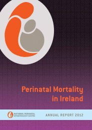 PerinatalmortalityinIreland2012NPEC