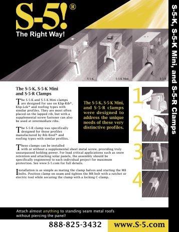 Download S-5-R Brochure – PDF - Sun Bright Solar