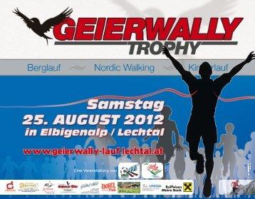 Flyer 2012.indd - zur Geierwally Trophy 2013 - Lechtal