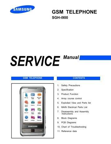 samsung sgh i617 service manual mike channon rh yumpu com samsung omnia i900 manuale d'uso Samsung I900 Charger