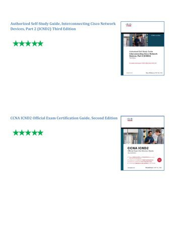 CCNA ICND2 Official Exam Certification Guide, Second Edition