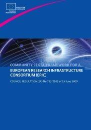 COUNCIL REGULATION (EC) No 723/2009 - European ...