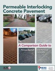ICPI Permeable Pavement Comparison Guide - Romanstone