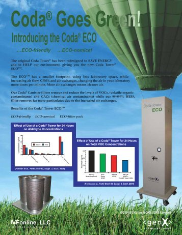 …ECO-friendly …ECO-nomical - IVFOnline.com