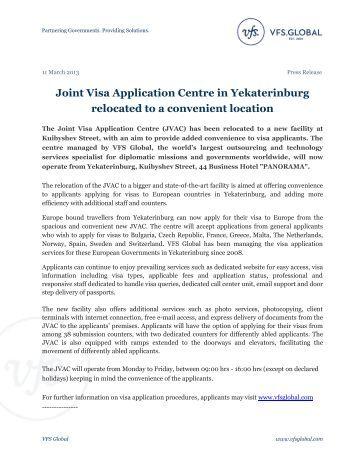 joint-visa-application-centre-in-yekaterinburg-vfs-global Vfs Desh Uk Visa Application Form on