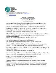 2013 Accepted Abstracts for Presentation
