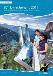 Geschäftsbericht Leukerbad Tourismus 2011 - RW Oberwallis