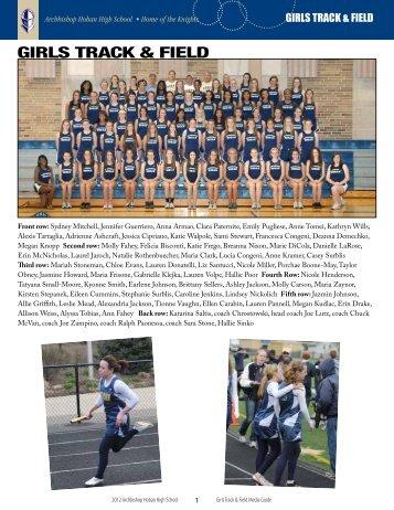 Girls Track & field - Archbishop Hoban High School
