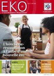L'hôtellerie- restauration à l'aube d'une nouvelle ère - CCI Rennes