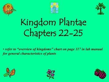 Ch. 22-25:Plants